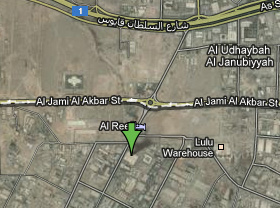 Al Reef L.L.C. Location Map
